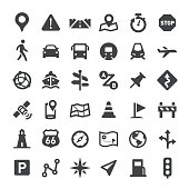 Navigation Icons - Big Series