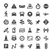 Navigation Icons - Big Series