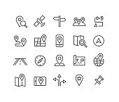 istock Navigation Icons - Classic Line Series 1184853160