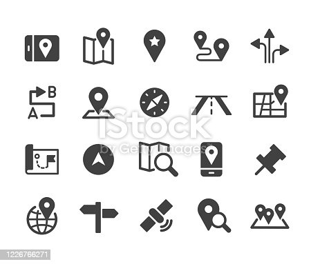 istock Navigation Icons - Classic Series 1226766271