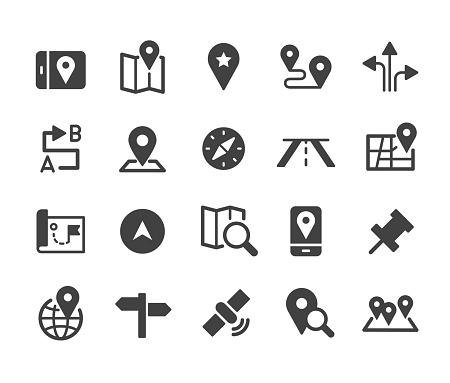 Navigation Icons - Classic Series