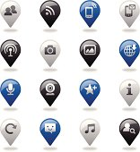 Navigation Icons Set | Social Media