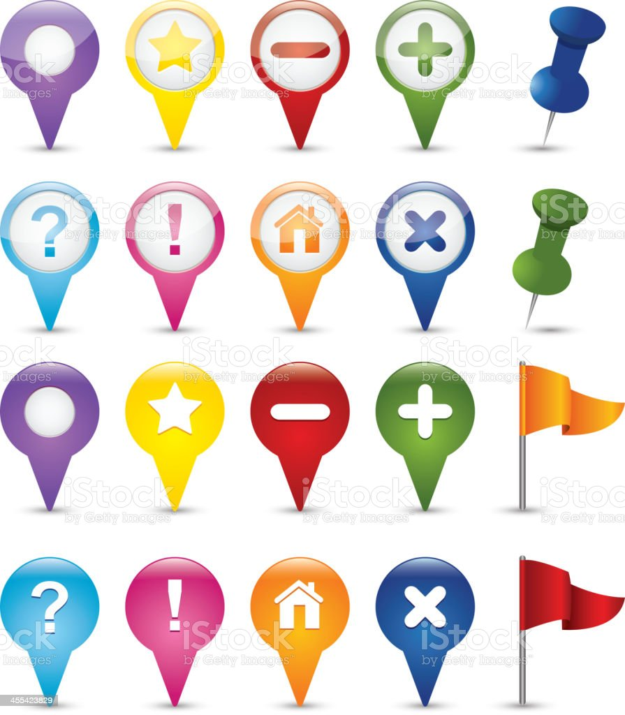 Navigations icons royalty-free navigations icons stock vector art & more images of alertness