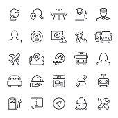 Traffic, navigation, GPS, icon, road, icon set, trip, navigation system, co-pilot, route