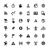 Navigation vector icons
