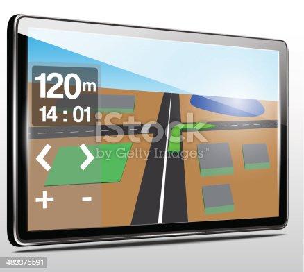 610119450 istock photo GPS navigation.Vector 483375591