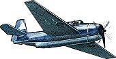 US Navy Fighter Plane