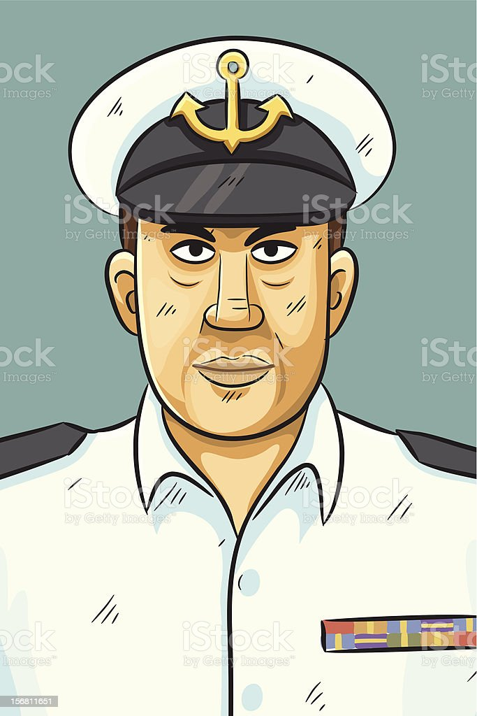 Navy Portrait royalty-free navy portrait stock vector art & more images of admiration