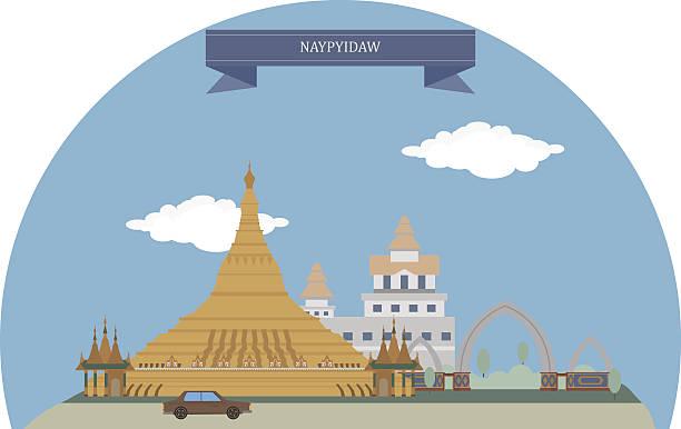 naypyidaw, myanmar - burma home do stock illustrations