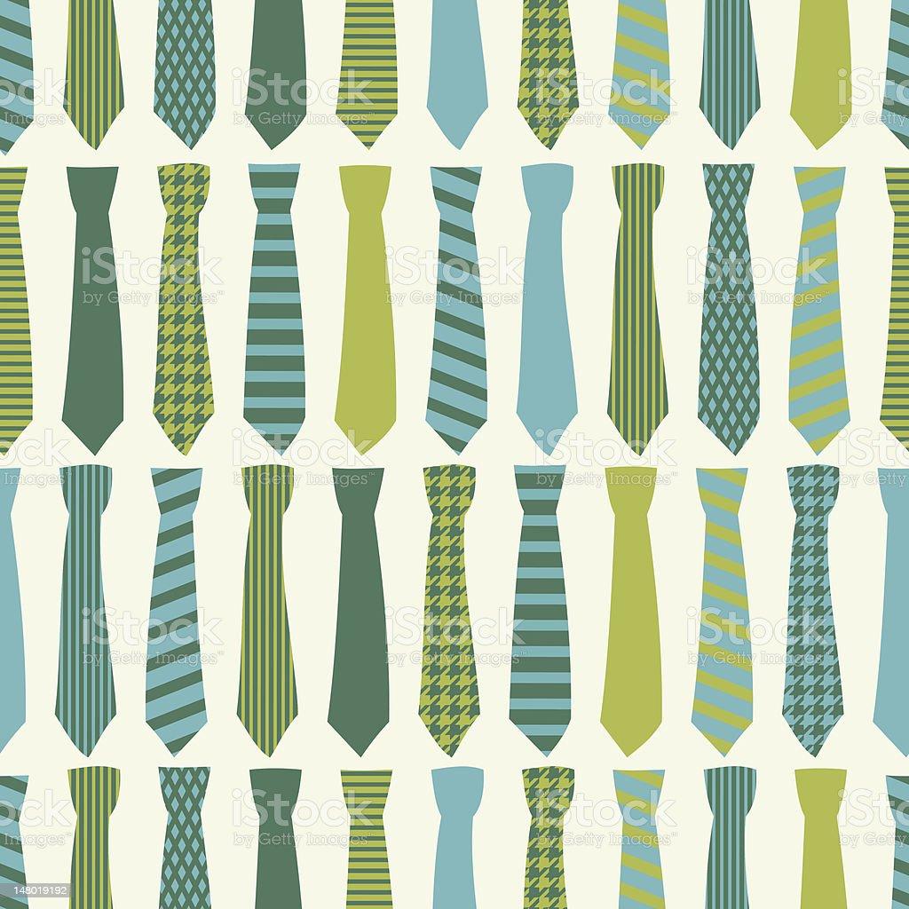 Necktie Background vector art illustration