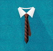 An elegant and classic business tie