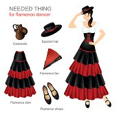 Needed thing for flamenco dancer