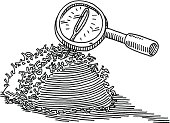 Needle In A Haystack Loupe Drawing