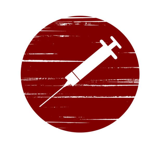 nadel - methamphetamin stock-grafiken, -clipart, -cartoons und -symbole