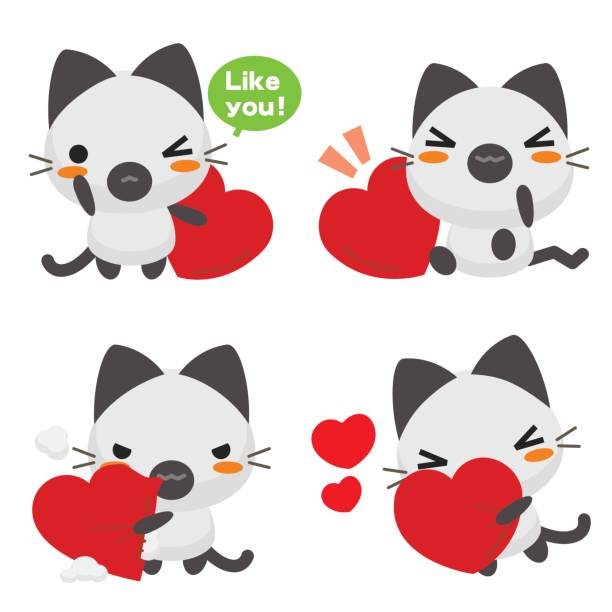 Download Royalty Free Cats In Love Clip Art, Vector Images ...