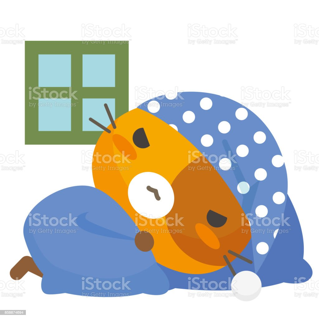 Neko Talk/chat de pyjama - Illustration vectorielle