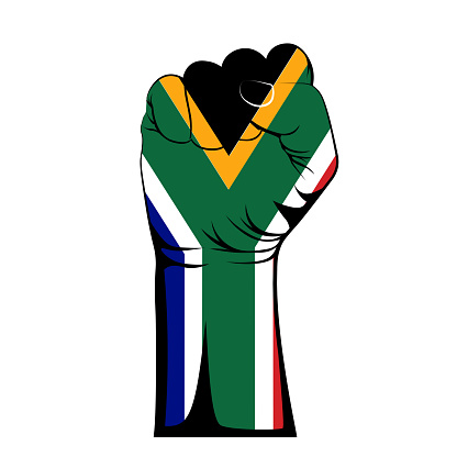 Vector illustration International Nelson Mandela Day 18th July.