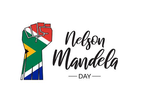 Nelson Mandela Day. Vector illustration. EPS10