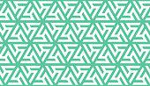 Neo mint windmill geometric vector seamless pattern. Repeating texture in neo mint colors for background, wallpaper, fashion, cover, textile, print, cloth, textile, wrapping.
