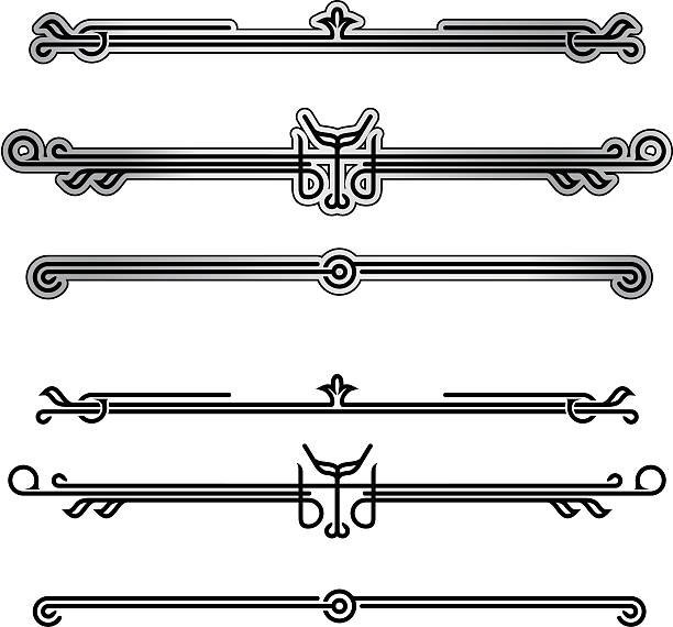 neo-deco ornamentation - 1 credit - 1920s style stock illustrations, clip art, cartoons, & icons