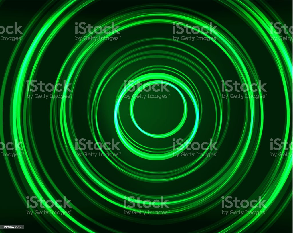 Neon circles abstract background royalty-free neon circles abstract background stock vector art & more images of abstract