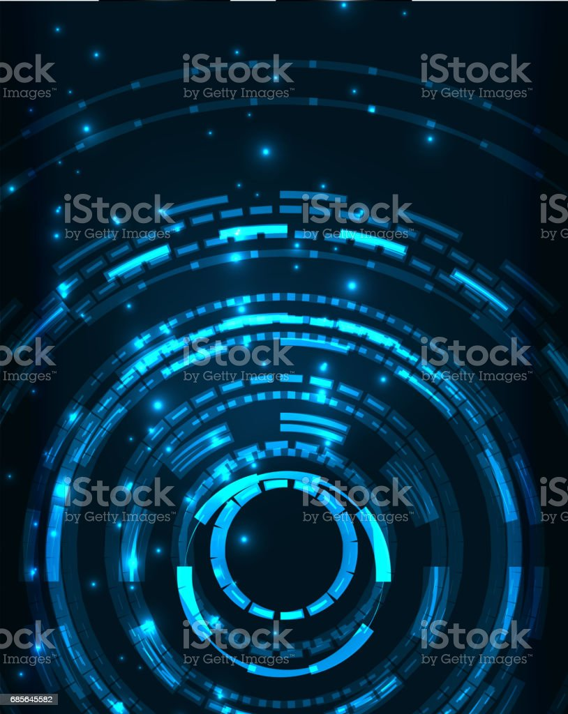 Neon circles abstract background 免版稅 neon circles abstract background 向量插圖及更多 互聯網 圖片