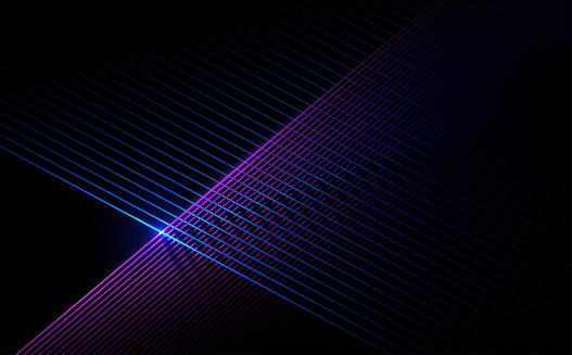 Neon color cross lines background