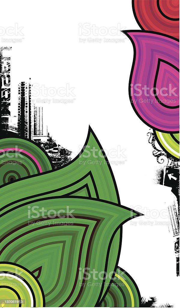 neon design royalty-free stock vector art