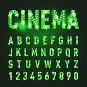 istock Neon Letters 1285255192