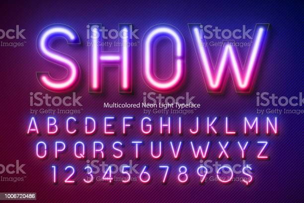 Neon light alphabet multicolored extra glowing font vector id1006720486?b=1&k=6&m=1006720486&s=612x612&h=6 hqpfdxogdrlempgldcr4bzdeb6zduivh  1kfpsty=
