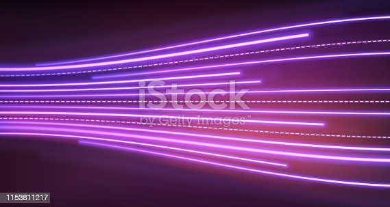istock Neon lights background 1153811217
