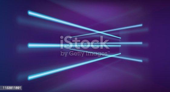 istock Neon lights background 1153811891