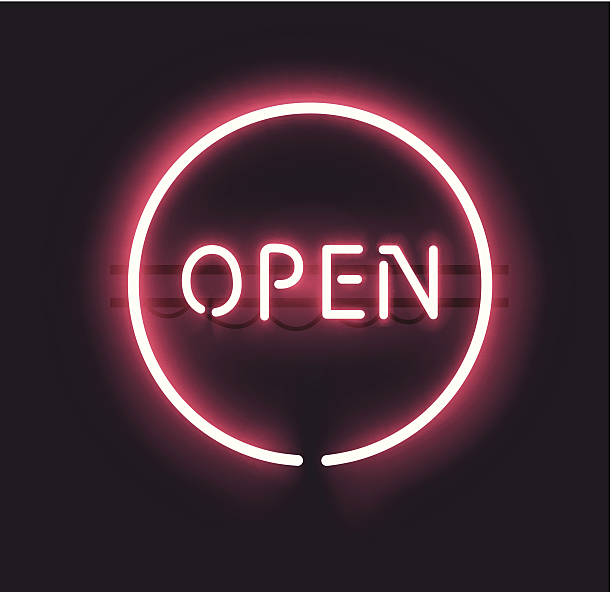 Open Sign Illustrations, Royalty-Free Vector Graphics ...