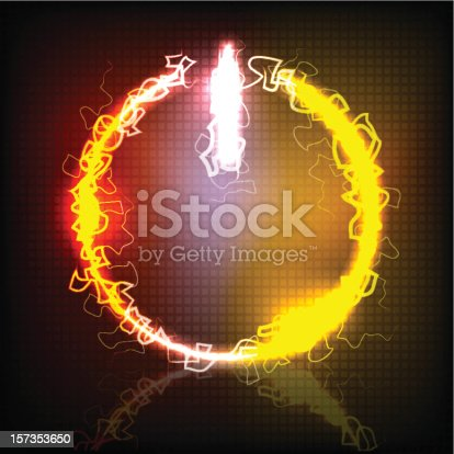 istock neon power button vector illustration 157353650