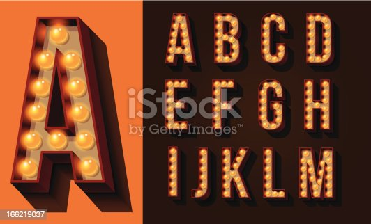 Set of isolated Capital Letters