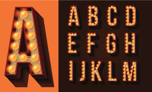 Neon Sign Type