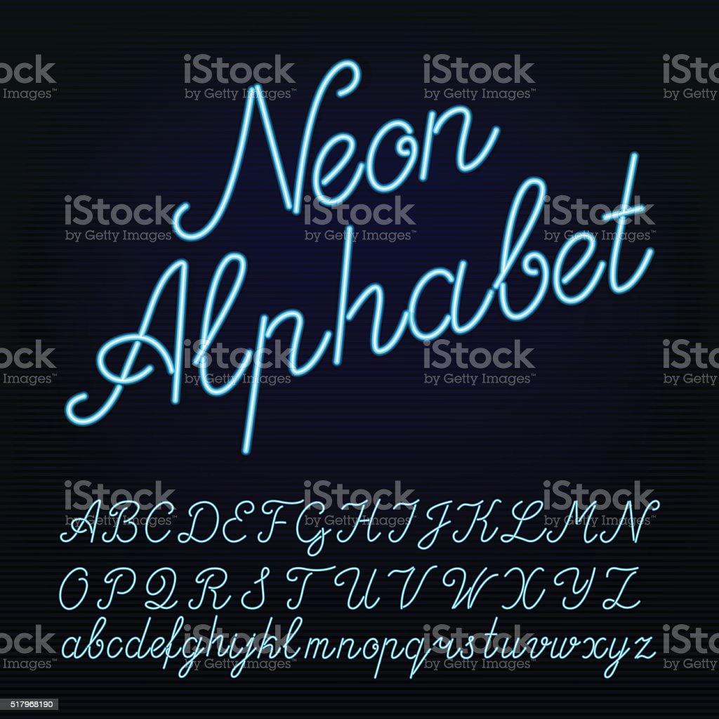 Neon Tube Font