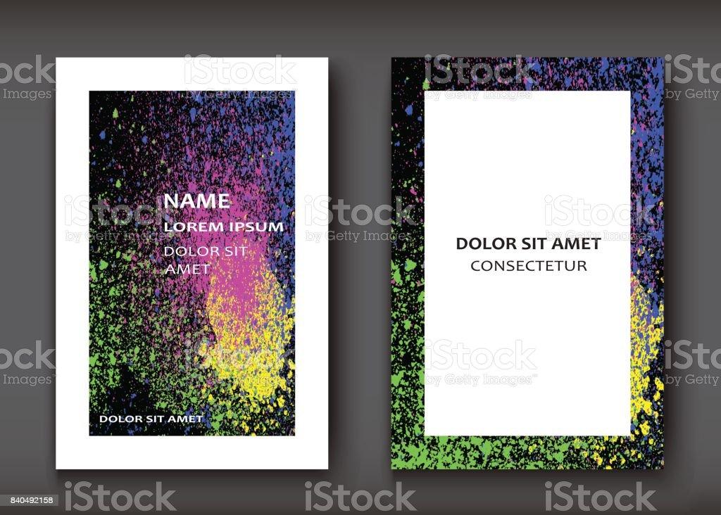 Forme Daquarelle Explosion De Non Artistique Couvre Jeu Conception Fluide Texture