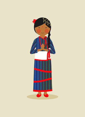 Nepalese traditional clothing for women