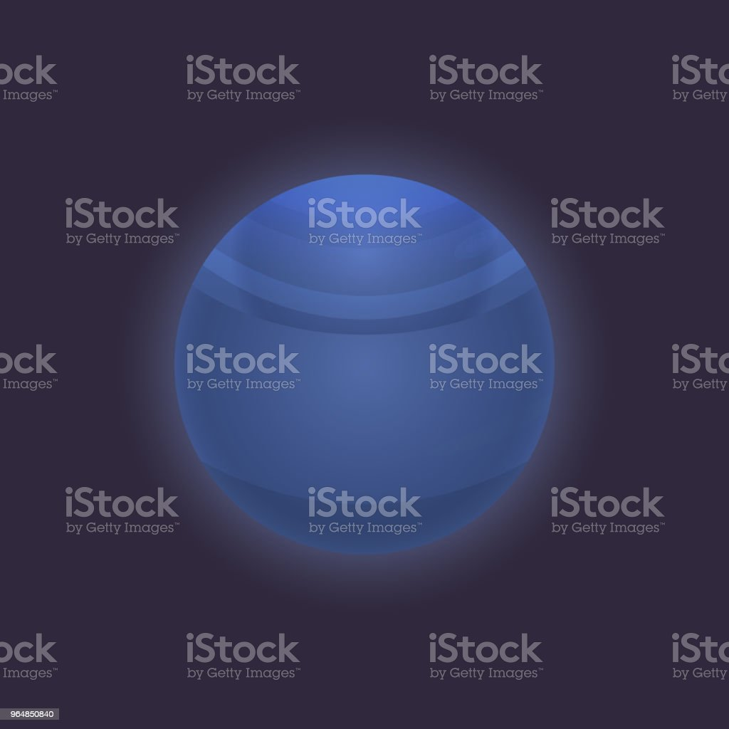 Neptune planet in deep space icon royalty-free neptune planet in deep space icon stock vector art & more images of astronomy