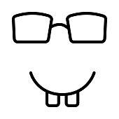 nerd  geek  face