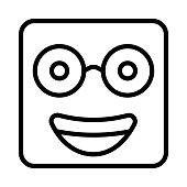 nerd   glasses   face
