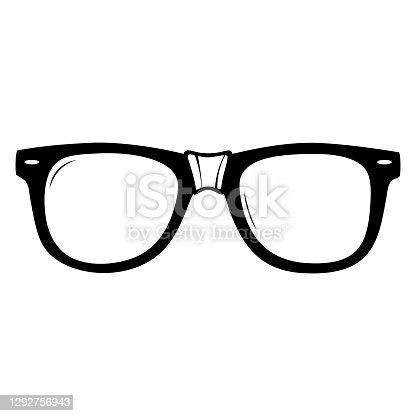 istock Nerd Glasses with Tape 1292756943