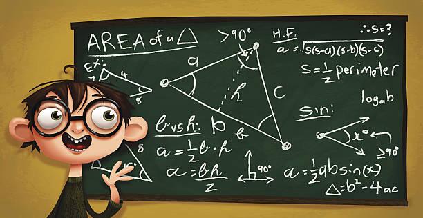 nerdy 何では計算サービス - 数学の授業点のイラスト素材/クリップアート素材/マンガ素材/アイコン素材