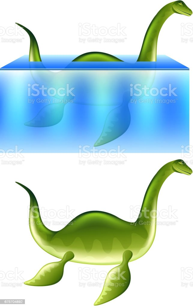 Nessie Loch Ness monster isolated vector royalty-free nessie loch ness monster isolated vector stock vector art & more images of animal