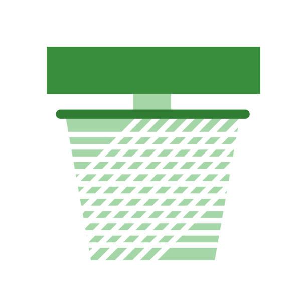 net-symbol vektor zeichen und symbol isoliert auf weißem hintergrund, net logokonzept - mückenfalle stock-grafiken, -clipart, -cartoons und -symbole