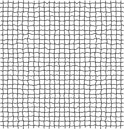 Net pattern. Rope net vector silhouette.
