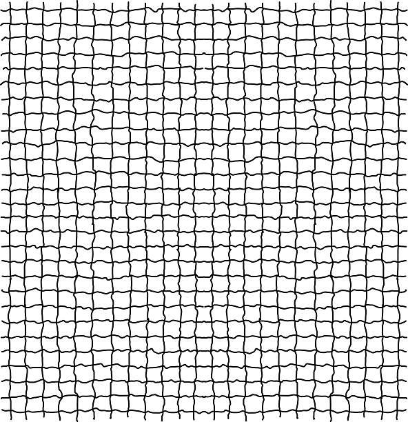 stockillustraties, clipart, cartoons en iconen met net pattern. rope net vector silhouette. - gaas