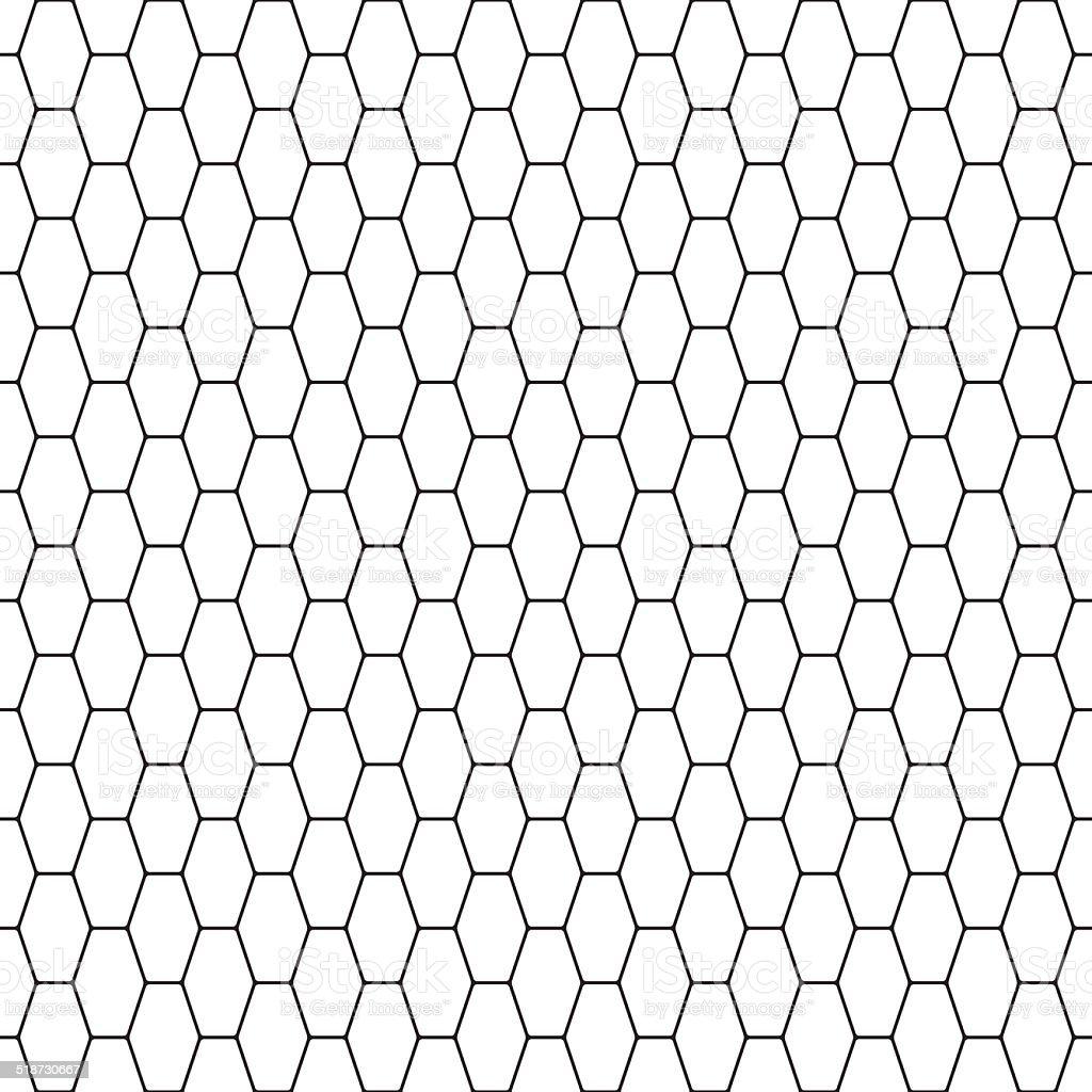 Net pattern vector art illustration