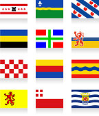 Netherland Province flag collection